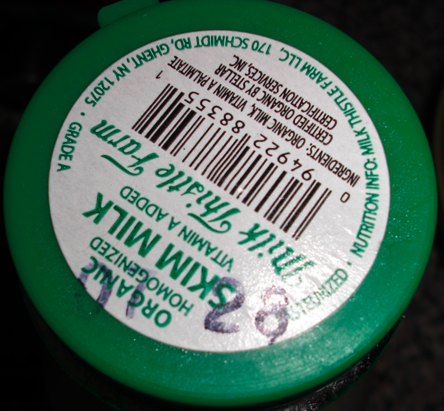 expired milk